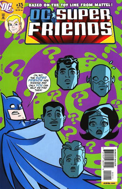 Cover for Super Friends (DC, 2008 series) #15