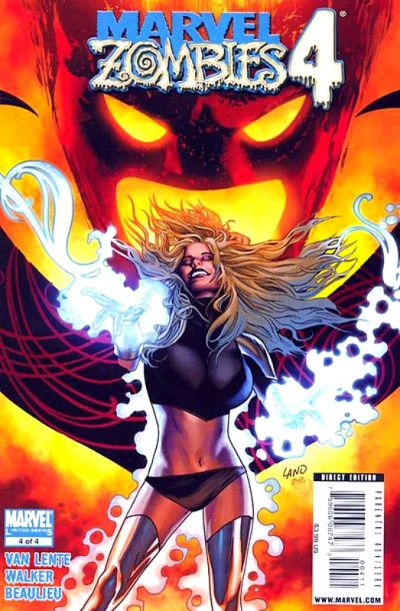 Cover for Marvel Zombies 4 (Marvel, 2009 series) #4