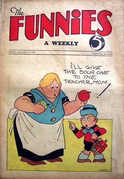 Cover for The Funnies (Dell, 1929 series) #[31]