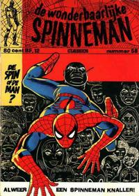 Cover for Spinneman Classics (Classics/Williams, 1970 series) #58