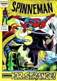 Cover Thumbnail for Spinneman Classics (Classics/Williams, 1970 series) #67