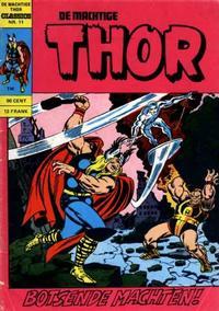 Cover Thumbnail for De machtige Thor Classics (Classics/Williams, 1971 series) #11