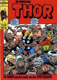Cover Thumbnail for De machtige Thor Classics (Classics/Williams, 1971 series) #13