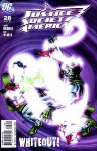 Cover Thumbnail for Justice Society of America (DC, 2007 series) #28