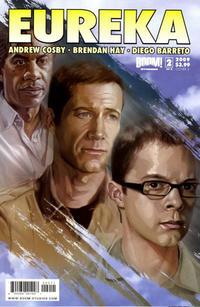 Cover Thumbnail for Eureka (Boom! Studios, 2008 series) #2 [Cover A]