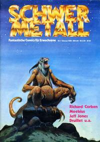 Cover Thumbnail for Schwermetall (Volksverlag, 1980 series) #1