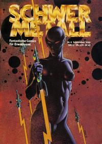 Cover Thumbnail for Schwermetall (Volksverlag, 1980 series) #8