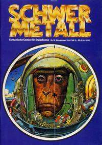 Cover Thumbnail for Schwermetall (Volksverlag, 1980 series) #10