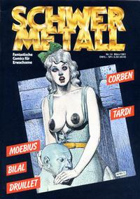 Cover Thumbnail for Schwermetall (Volksverlag, 1980 series) #14