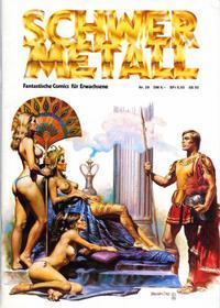 Cover Thumbnail for Schwermetall (Volksverlag, 1980 series) #29