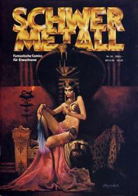 Cover Thumbnail for Schwermetall (Volksverlag, 1980 series) #33