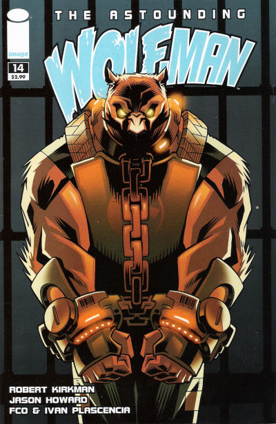 Cover for The Astounding Wolf-Man (Image, 2007 series) #14
