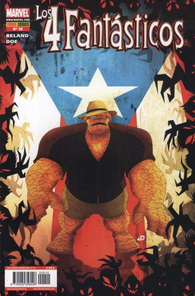 Cover for Los 4 Fantásticos (Panini España, 2008 series) #10