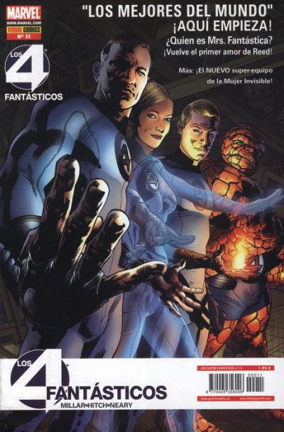 Cover for Los 4 Fantásticos (Panini España, 2008 series) #11