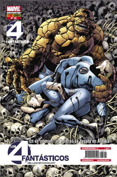Cover for Los 4 Fantásticos (Panini España, 2008 series) #13