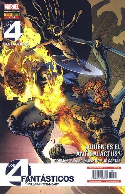 Cover for Los 4 Fantásticos (Panini España, 2008 series) #14
