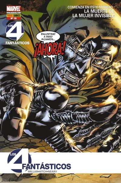 Cover for Los 4 Fantásticos (Panini España, 2008 series) #15