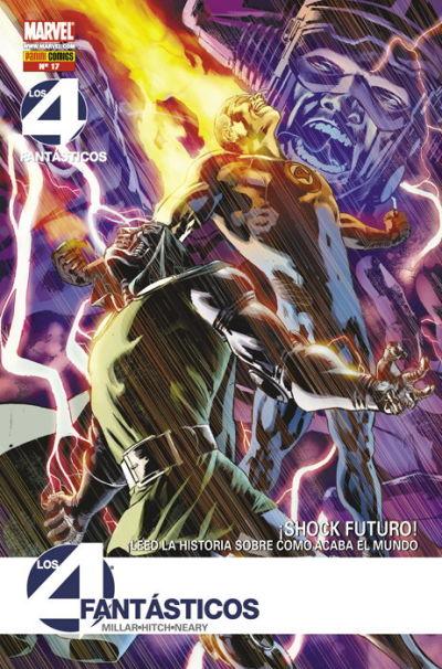 Cover for Los 4 Fantásticos (Panini España, 2008 series) #17
