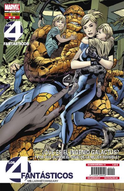 Cover for Los 4 Fantásticos (Panini España, 2008 series) #18
