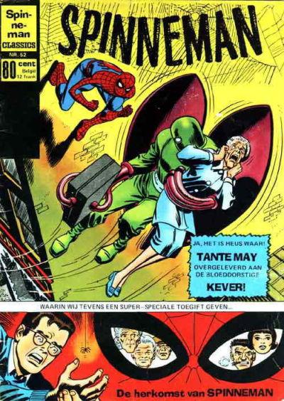 Cover for Spinneman Classics (Classics/Williams, 1970 series) #52