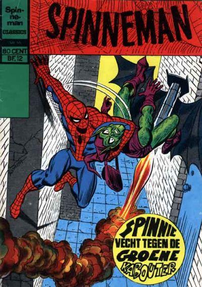 Cover for Spinneman Classics (Classics/Williams, 1970 series) #55