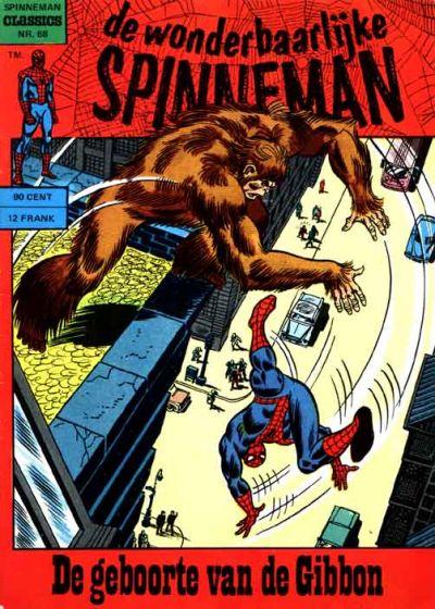 Cover for Spinneman Classics (Classics/Williams, 1970 series) #68