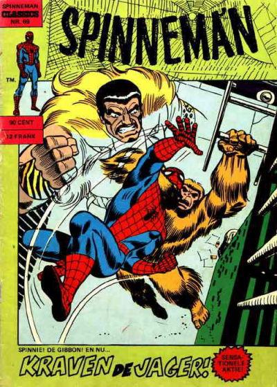 Cover for Spinneman Classics (Classics/Williams, 1970 series) #69