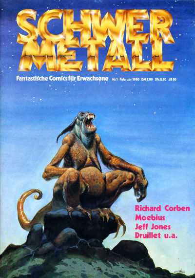 Cover for Schwermetall (Volksverlag, 1980 series) #1