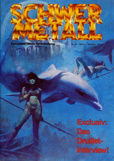 Cover for Schwermetall (Volksverlag, 1980 series) #31