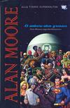 Cover for Alan Moore Et univers uten grenser [Alle Tiders Superhelter] (Hjemmet / Egmont, 2007 series)