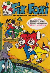 Cover Thumbnail for Fix und Foxi (Gevacur, 1966 series) #595