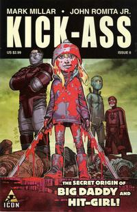 Cover Thumbnail for Kick-Ass (Marvel, 2008 series) #6