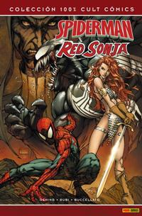 Cover Thumbnail for 100% Cult Comics. Spiderman & Red Sonja (Panini España, 2008 series)