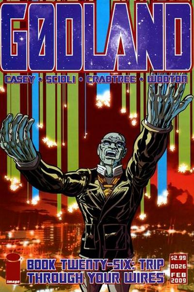 Cover for Godland (Image, 2005 series) #26