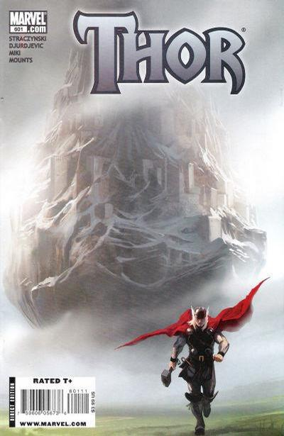 Cover for Thor (Marvel, 2007 series) #601