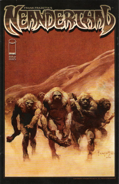 Cover for Frank Frazetta's Neanderthal (Image, 2009 series)