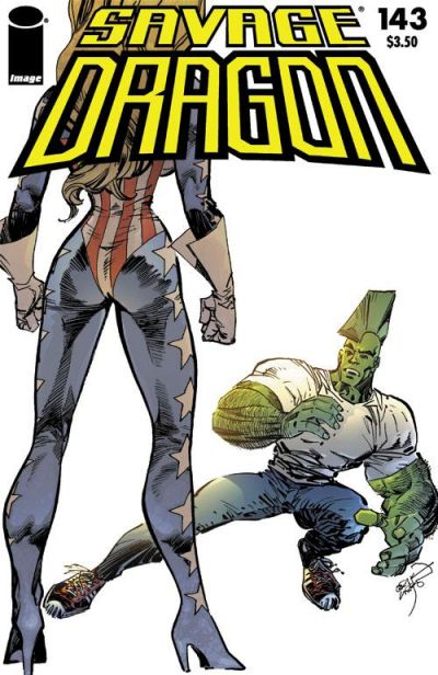 Cover for Savage Dragon (Image, 1993 series) #143