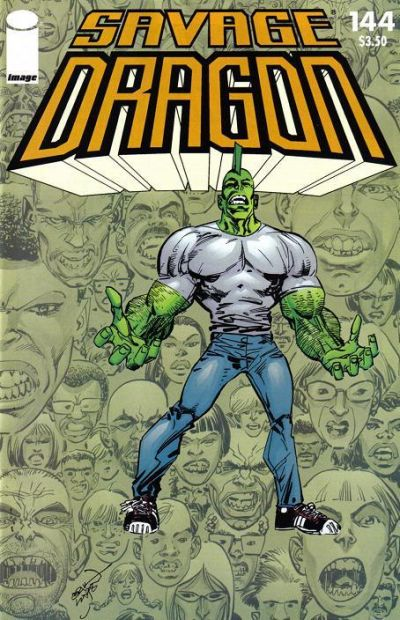 Cover for Savage Dragon (Image, 1993 series) #144