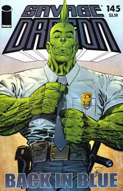 Cover for Savage Dragon (Image, 1993 series) #145