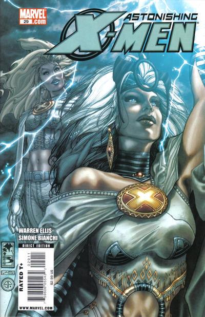 Cover for Astonishing X-Men (Marvel, 2004 series) #29