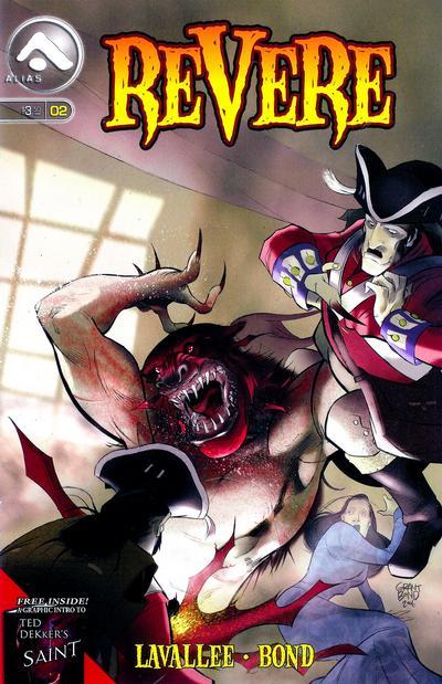 Cover for Revere (Alias, 2006 series) #2