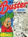 Cover for The Best of Buster Monthly (Fleetway Publications, 1987 series) #[August 1987]