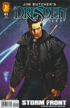 Cover for Jim Butcher's The Dresden Files: Storm Front (Dabel Brothers Productions, 2008 series) #1 [Ardian Syaf Cover]