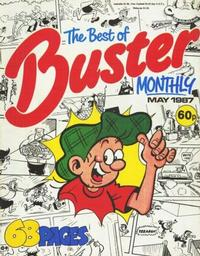 Cover Thumbnail for The Best of Buster Monthly (Fleetway Publications, 1987 series) #[May 1987]