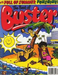 Cover Thumbnail for The Best of Buster Monthly (Fleetway Publications, 1987 series) #[August 1990]