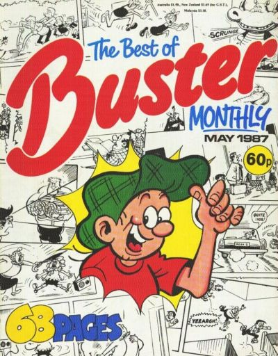 Cover for The Best of Buster Monthly (Fleetway Publications, 1987 series) #[May 1987]