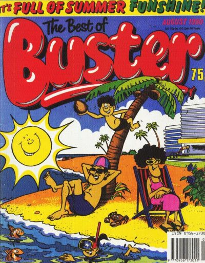 Cover for The Best of Buster Monthly (Fleetway Publications, 1987 series) #[August 1990]