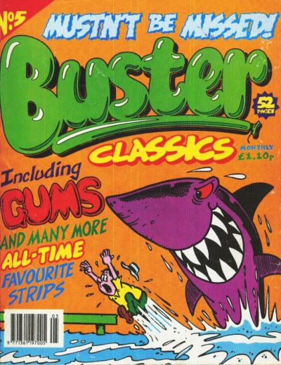 Cover for Buster Classics (Fleetway Publications, 1996 series) #5