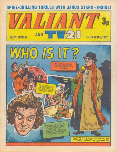Cover for Valiant and TV21 (IPC, 1971 series) #5th February 1972