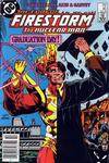 Cover for The Fury of Firestorm (DC, 1982 series) #40 [Newsstand]
